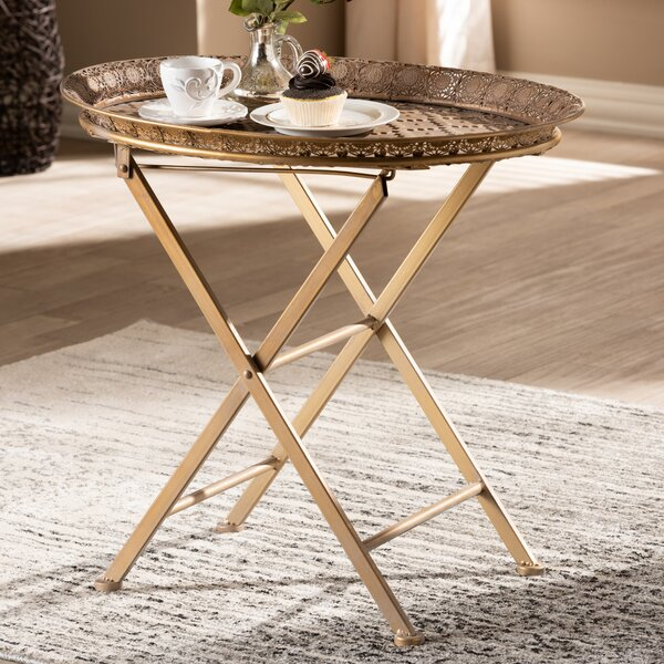 Clemmons Tray Table By Bungalow Rose