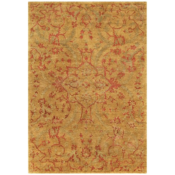 Legacy Gold Area Rug by Noble House