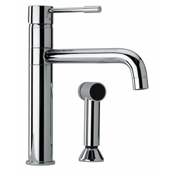 J25 Kitchen Series Single Handle Kitchen Faucet with Side Spray by Jewel Faucets