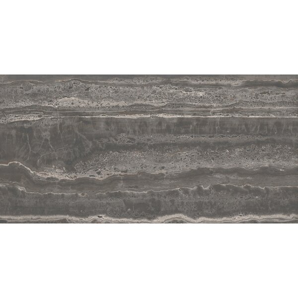 San Giulio 12 x 24 Ceramic Field Tile in Via Gray by Interceramic