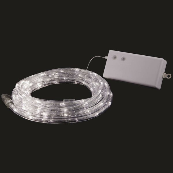 100 LED Outdoor/Indoor Battery Powered Rope Light by Pacific Accents