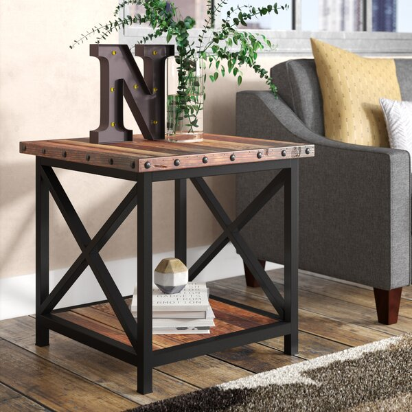 Cecily End Table by 17 Stories