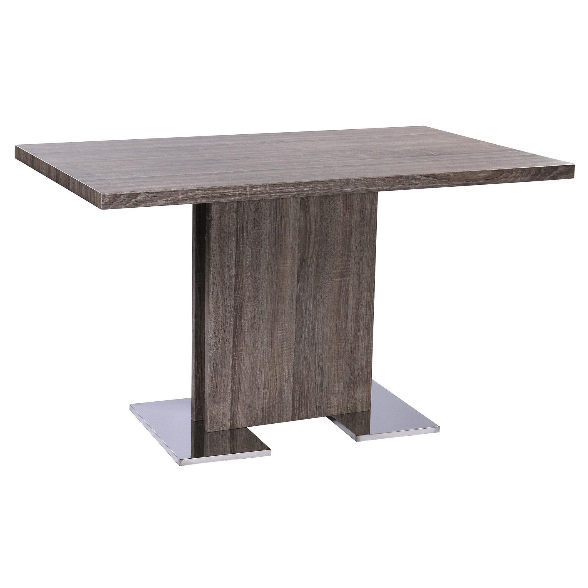 Orren ellis holder contemporary dining table wayfair