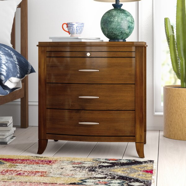 Travis 2 Drawer Nightstand By Mistana by Mistana Cool