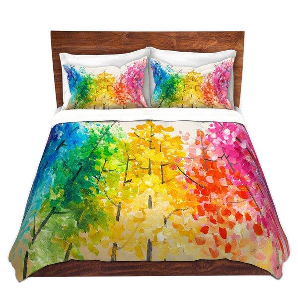 Sisson Lam Fuk Tim Colorful Trees II Duvet Cover Set