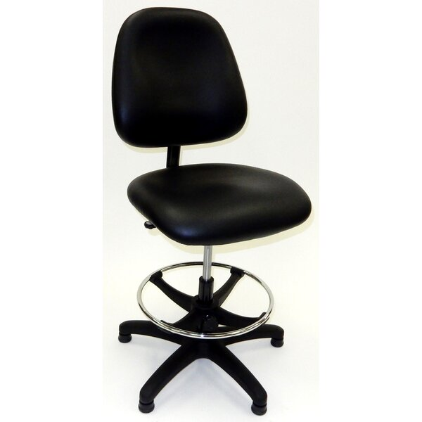 Mid Back Drafting Chair by Symple Stuff