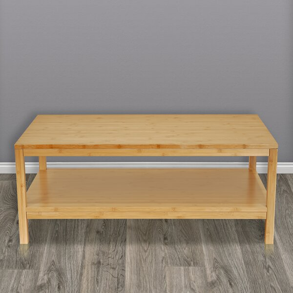 Lancefield Solid Wood Coffee Table with Storage by Latitude Run Latitude Run