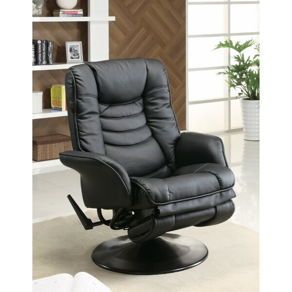 Llewellyn Opulently Functional Glider Manual Swivel Recliner by Latitude Run