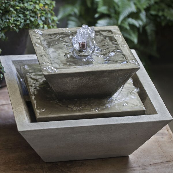 Kenzo Concrete Garden Terrace Fountain by Campania International