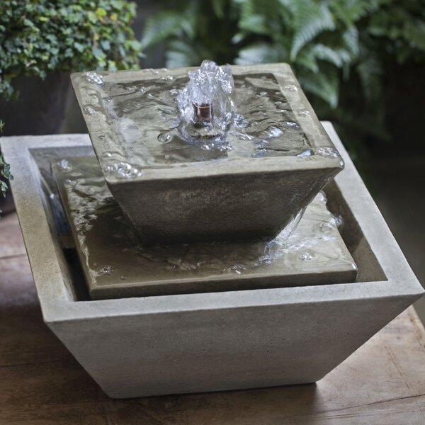 Kenzo Concrete Garden Terrace Fountain by Campania International