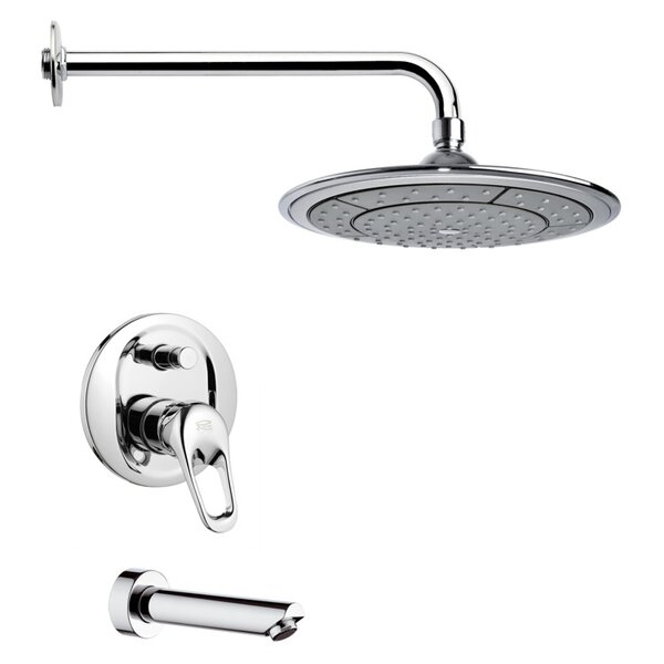 Peleo Pressure Balance Tub and Shower Faucet by Remer by Nameek's Remer by Nameek's