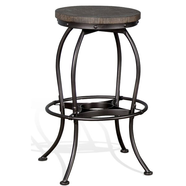 Anja 30 Swivel Bar Stool by Millwood Pines