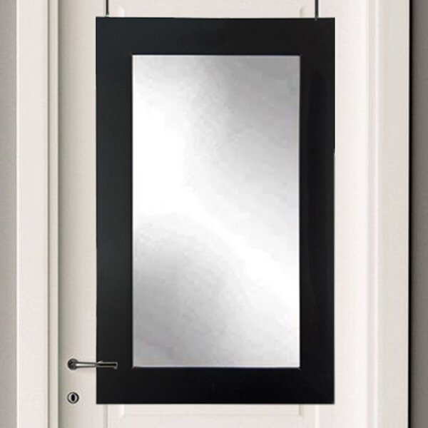 Over The Door Silhouette Wall Mirror by Brandt Works LLC