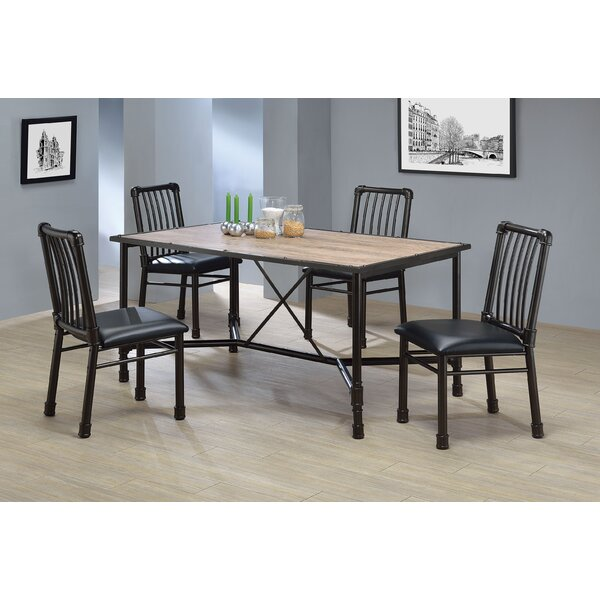 Macclesfield 5 Piece Dining Set by Williston Forge