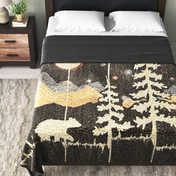 Saxon Moonlit Bear Single Quilt