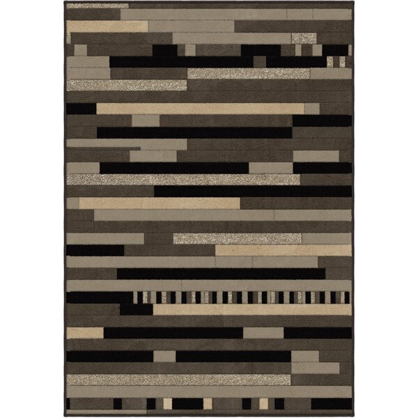 Anton Grey Area Rug by Threadbind