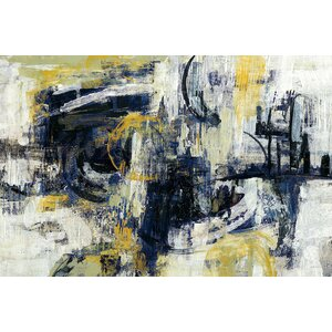 'Graffiti Wall III' Painting Print on Canvas by East Urban Home
