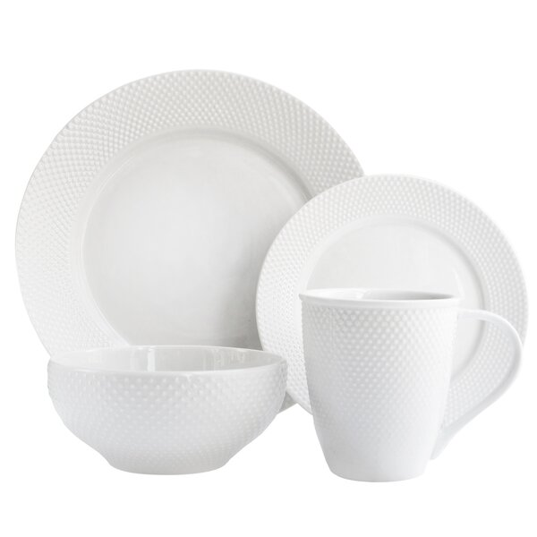 Chloe 16 Piece Dinnerware Set by Elle Decor