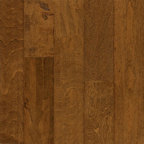Frontier 5 Engineered Birch Hardwood Flooring in Filbert by Armstrong Flooring