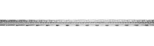 Girder Nosing 48 x 1.5 Unfinished Metal Cornice Tile in Steel (Set of 5) by Shanko