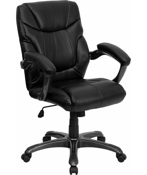Kropp Mid-Back Overstuffed Ergonomic Executive Chair by Symple Stuff