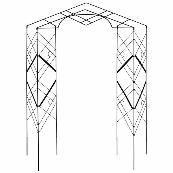 Athena Iron Folding Trellis by ACHLA