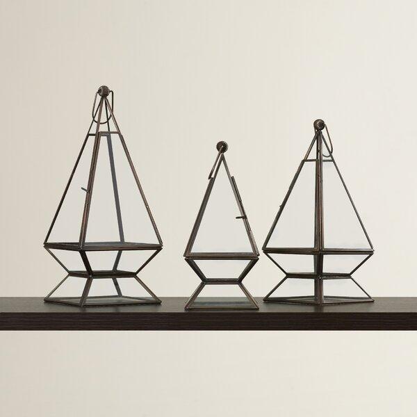Sand Canyon 3-Piece Glass Terrarium Set by Langley Street