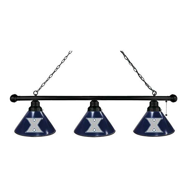 NCAA 3-Light Kitchen Island Pendant by Holland Bar