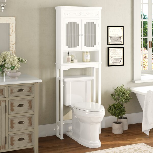 Chapeau 24 W x 67 H Over the Toilet Storage by Lark Manor