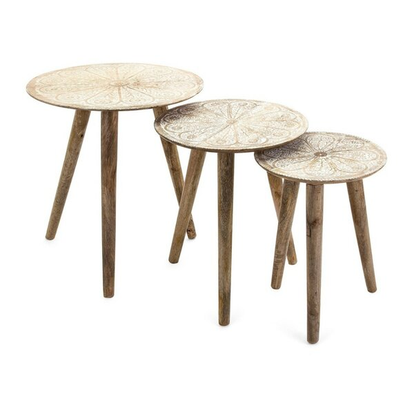 Marten 3 Piece Nesting Tables by Bungalow Rose