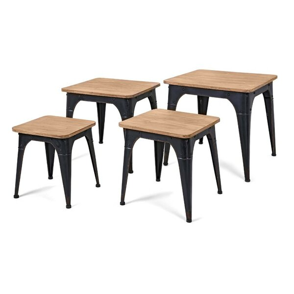 Buiron 4 Piece Nesting Tables by 17 Stories