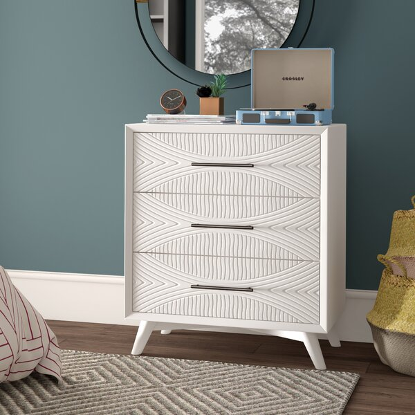 Mcelrath 3 Drawer Dresser by Mercury Row