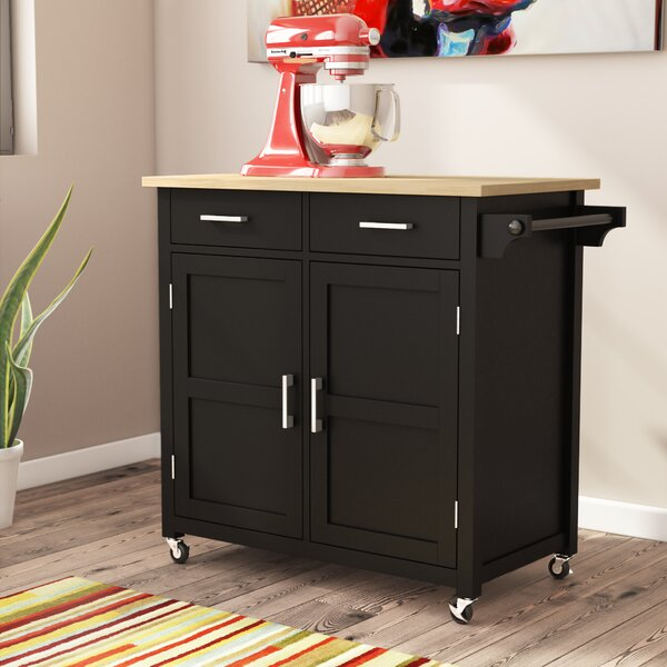 Moorman Kitchen Cart by Ebern Designs