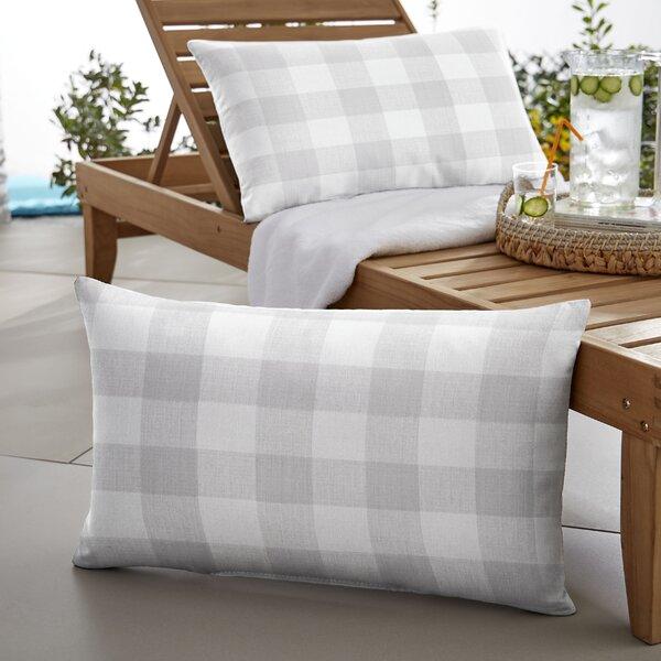 Beddows Buffalo Indoor/Outdoor Lumbar Pillow (Set of 2) by Mozaic Company