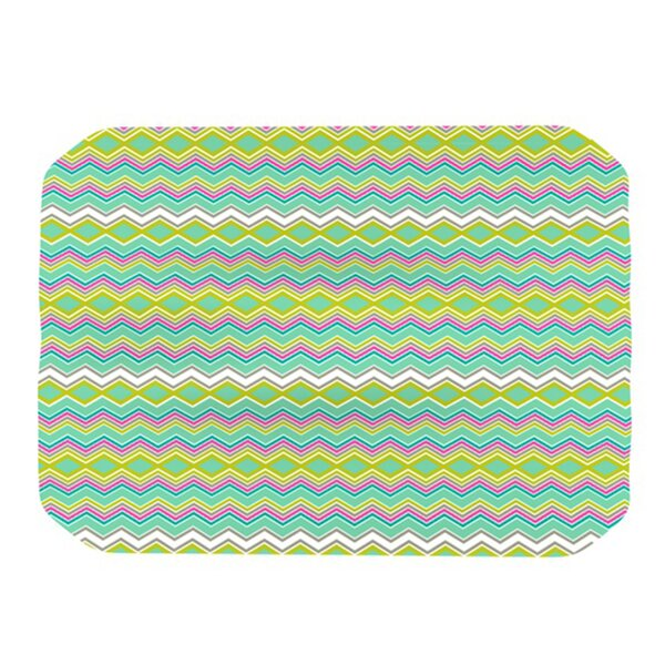 Chevron Love Placemat by KESS InHouse
