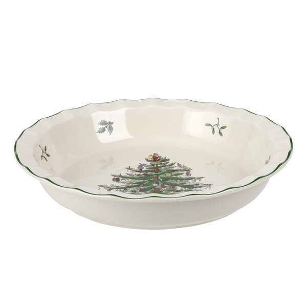 Sculpted Pie Dish by Spode