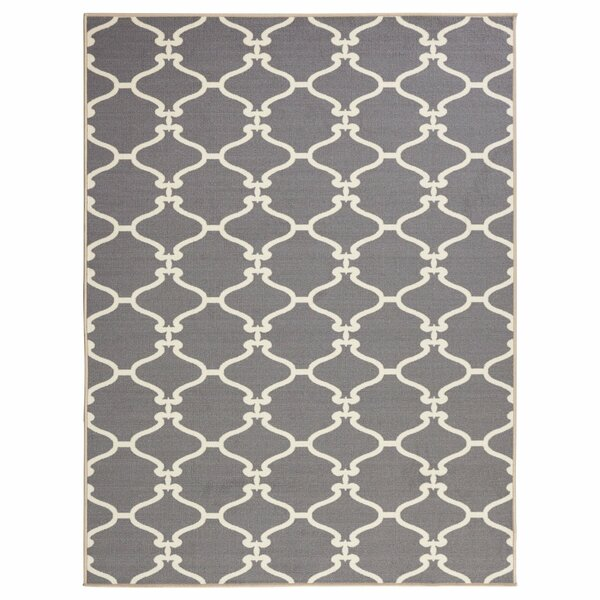 Clifton Grey Area Rug by sweet home stores