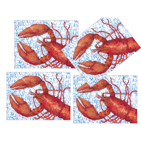 Lobster Placemat (Set of 4) by My Island