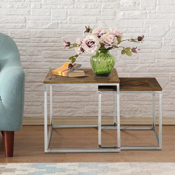 Ephratah 2 Piece Nesting Tables by Brayden Studio Brayden Studio