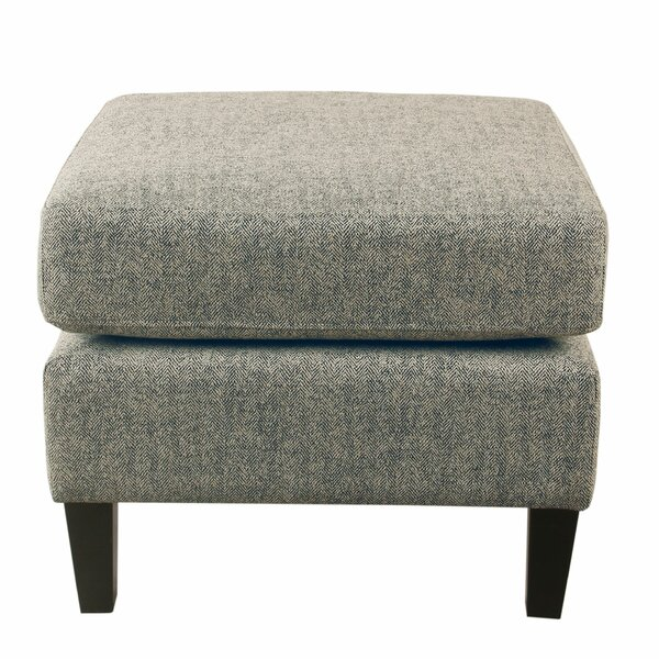 Braaten Textured Large Ottoman by Canora Grey