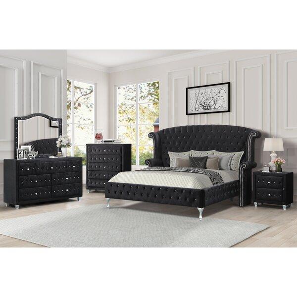 Hosler Platform Configurable Bedroom Set by House of Hampton