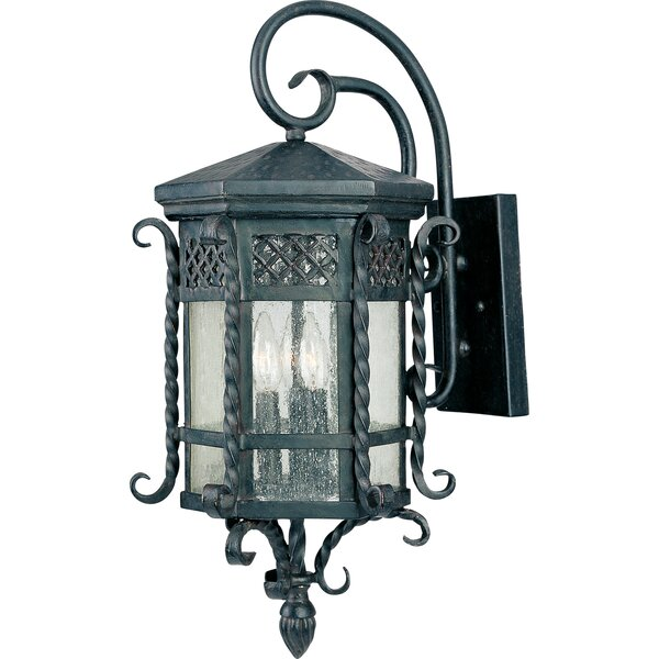 Scottsdale 3 Light Outdoor Wall Lantern by Wildon Home ®