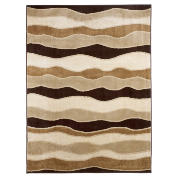 Toffee Striped Area Rug by Signature Design by Ashley