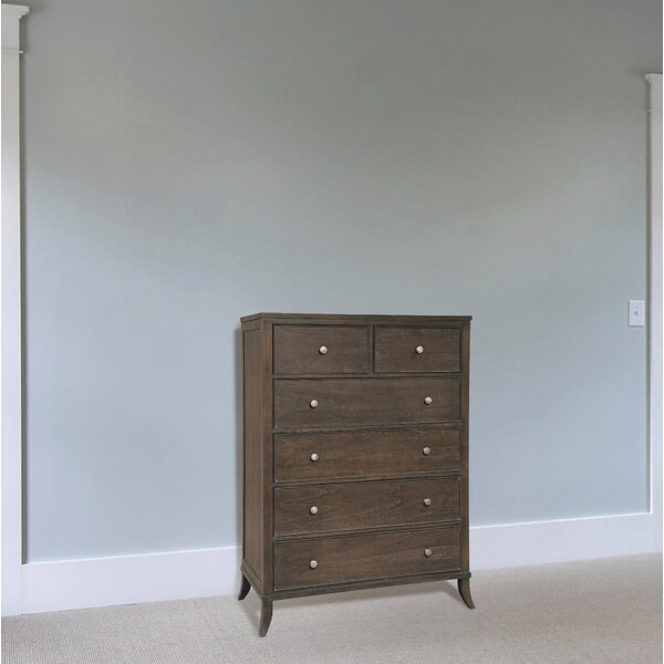 Sizemore 6 Drawer Standard Chest by Loon Peak