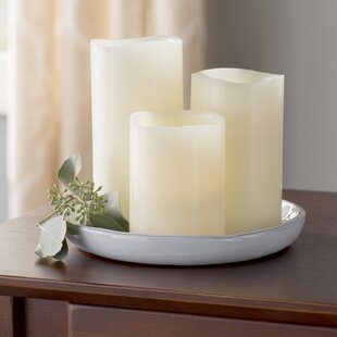 Compare 3 Piece Scented Flameless Candle Set By Andover Mills