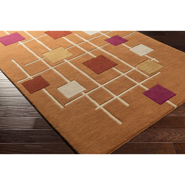 Dewald Hand-Tufted Area Rug by Ebern Designs
