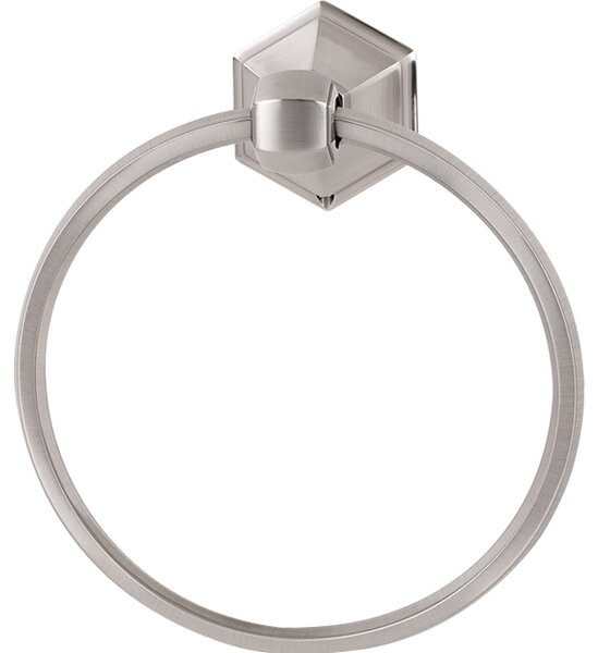 Nicole Wall Mounted Towel Ring by Alno Inc