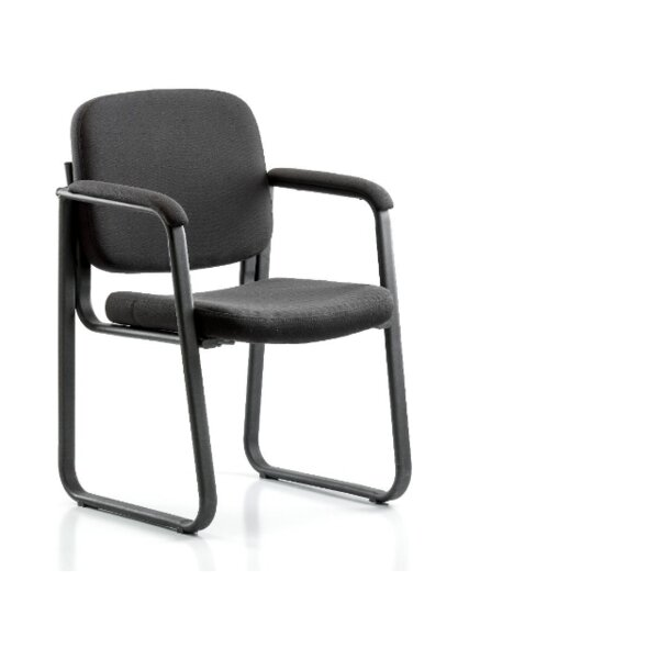 Zeke Desk Height Guest Chair by Symple Stuff