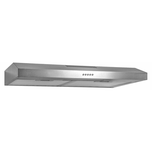 58 CFM Ducted Under Cabinet Range Hood by AKDY