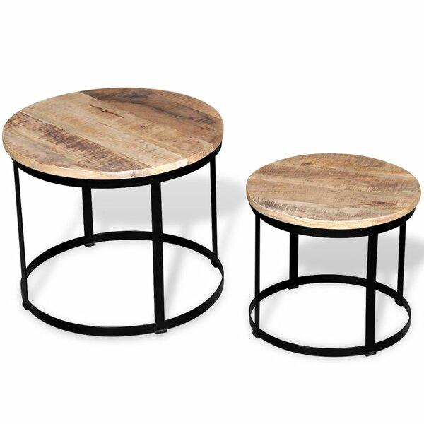 2 Piece Coffee Table Set by VidaXL VidaXL